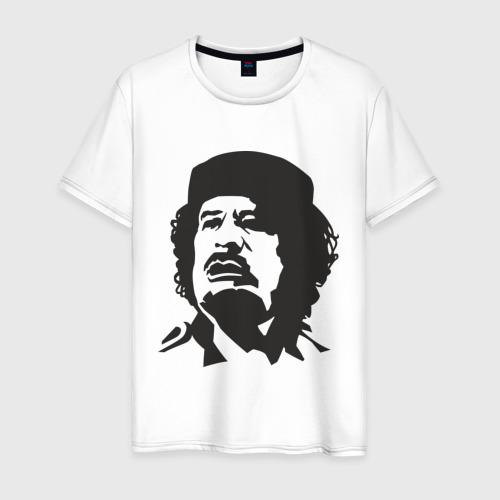 Мужская футболка хлопок Каддафи