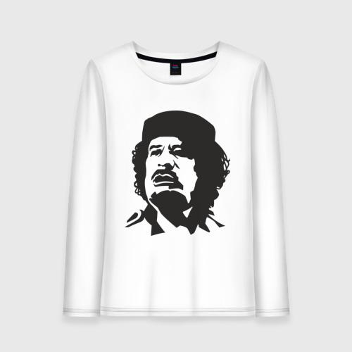 Женский лонгслив хлопок Каддафи
