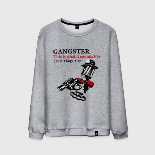 Мужской свитшот хлопок  Фото 01, Gangster mafia