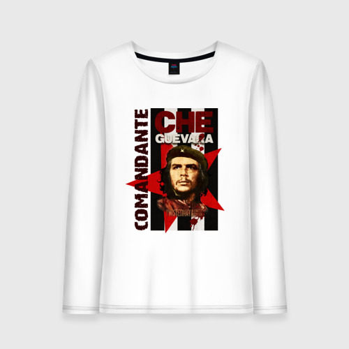 Женский лонгслив хлопок Che Guevara (4)