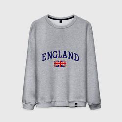 England с флагом светящийся