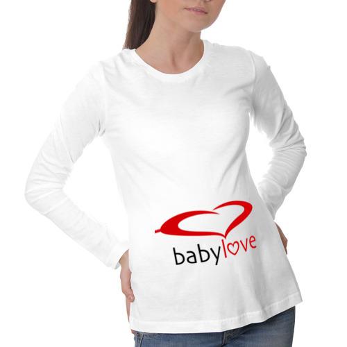 Лонгслив для беременных хлопок Baby Love