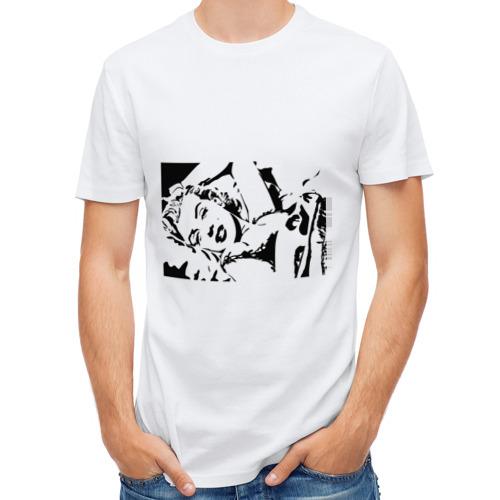 Мужская футболка полусинтетическая  Фото 01, Marilyn Monroe