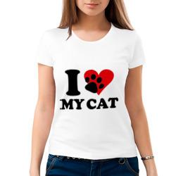 I love my cat - Я люблю свою кошку