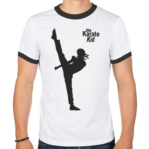 Мужская футболка рингер  Фото 01, Карате пацан