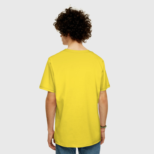 Мужская футболка хлопок Oversize Магнит для сердца (женская) Фото 01