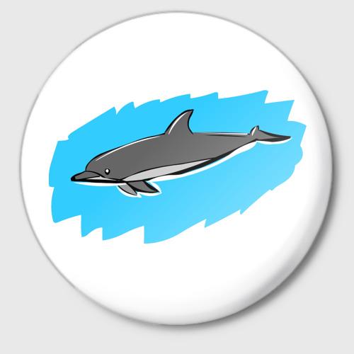 Значок Дельфин Фото 01