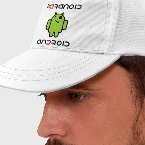 Бейсболка Paranoid android