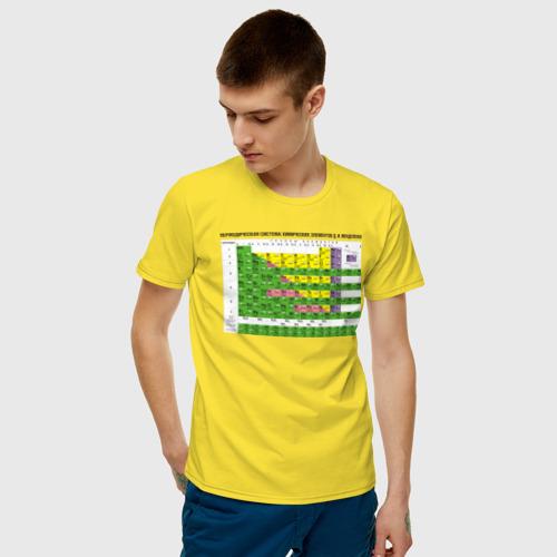 Мужская футболка хлопок Таблица Менделеева Фото 01