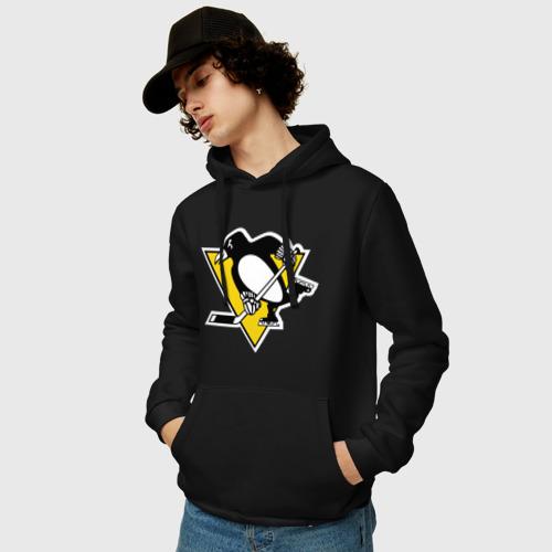 Мужская толстовка хлопок Pittsburgh Penguins Фото 01