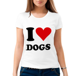 I love dogs - Я люблю собак