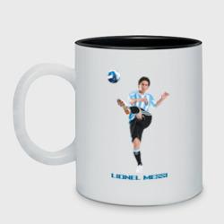 Lionel Messi - Argentina, цвет: белый + черный, фото 4