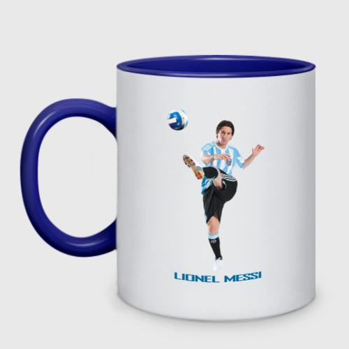 Lionel Messi - Argentina, цвет: белый + синий, фото 2