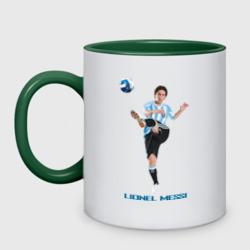 Lionel Messi - Argentina, цвет: белый + зеленый, фото 6
