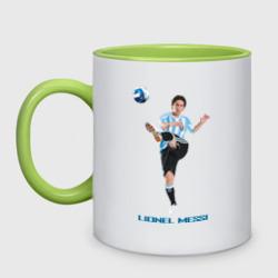 Lionel Messi - Argentina, цвет: белый + светло-зеленый, фото 8