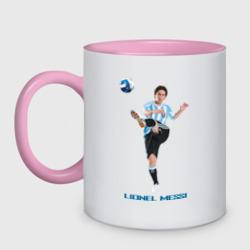 Lionel Messi - Argentina, цвет: белый + розовый, фото 12
