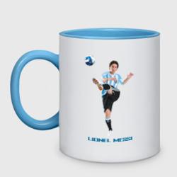 Lionel Messi - Argentina, цвет: белый + небесно-голубой, фото 14