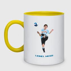 Lionel Messi - Argentina, цвет: белый + желтый, фото 16