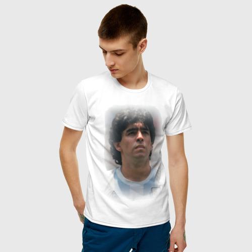 Мужская футболка хлопок Diego Maradona (2) Фото 01