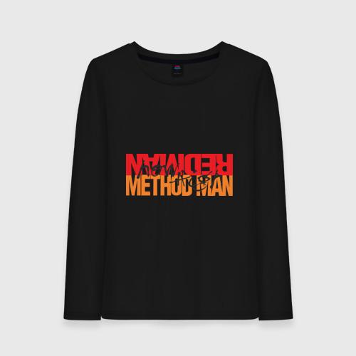Женский лонгслив хлопок Method Man & Redman - How High