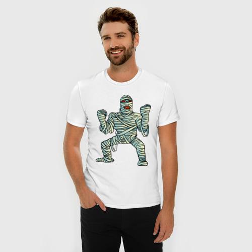 Мужская футболка премиум  Фото 03, Мумия