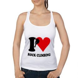I love rock climbing - Я люблю скалолазание