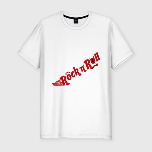 Мужская футболка премиум  Фото 01, Rock and Roll (2)
