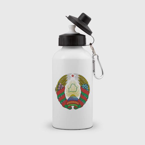 Бутылка спортивная Белоруссия герб