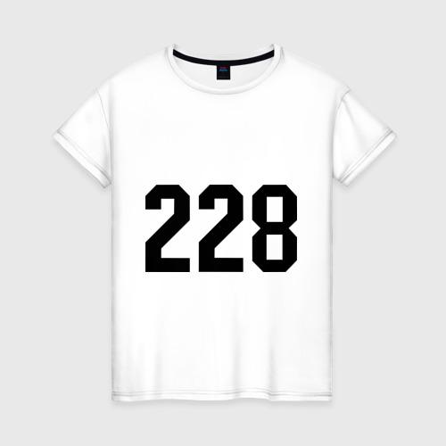 Женская футболка хлопок 228