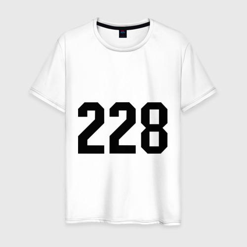 Мужская футболка хлопок 228