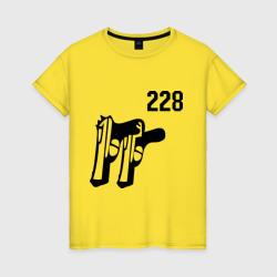 Женская футболка хлопок228 (2)
