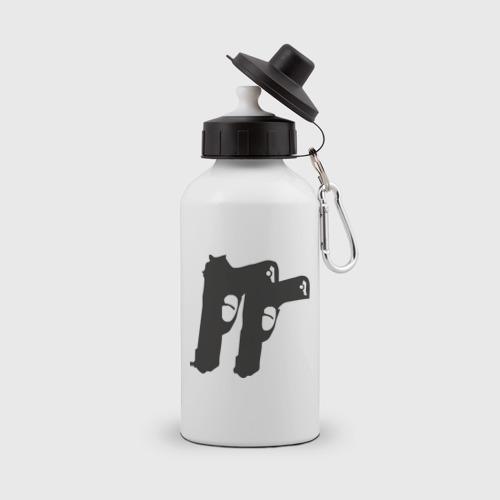 Бутылка спортивная Пистолеты (11)
