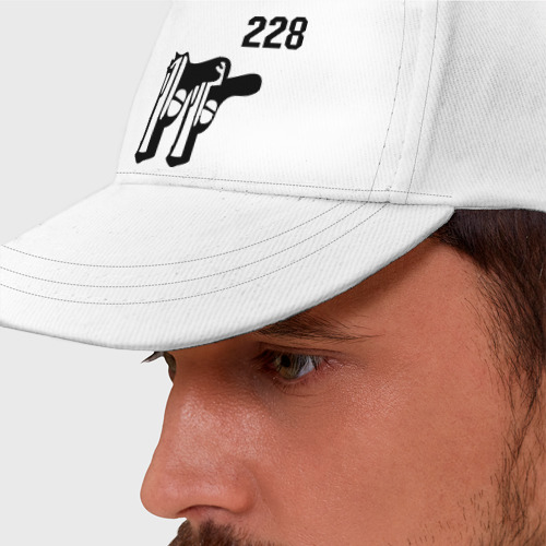 Бейсболка Пистолеты 228 (2)