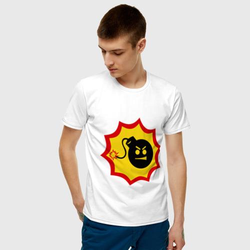 Мужская футболка хлопок Крутой Сэм Фото 01