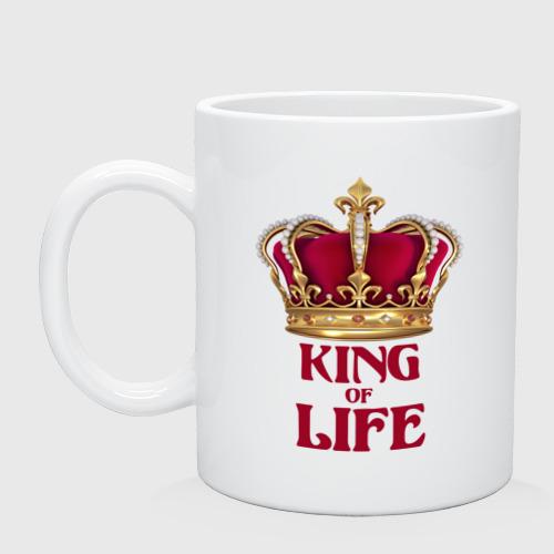 Кружка  Фото 01, King of Life - Король жизни