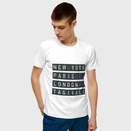 Мужская футболка хлопок New York - Тагил Фото 01