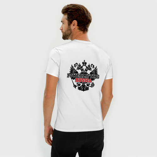 Мужская футболка премиум  Фото 04, Powerlifting Russia (2)
