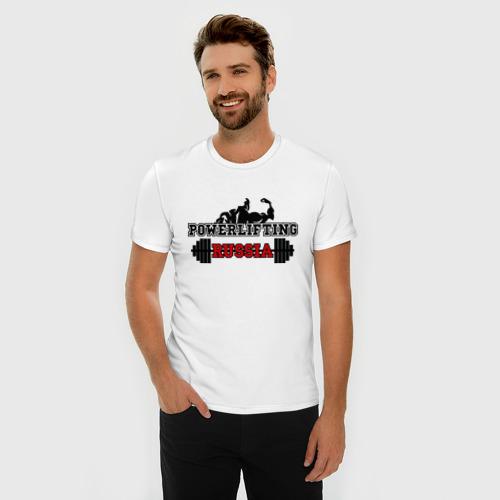 Мужская футболка премиум  Фото 03, Powerlifting Russia (2)