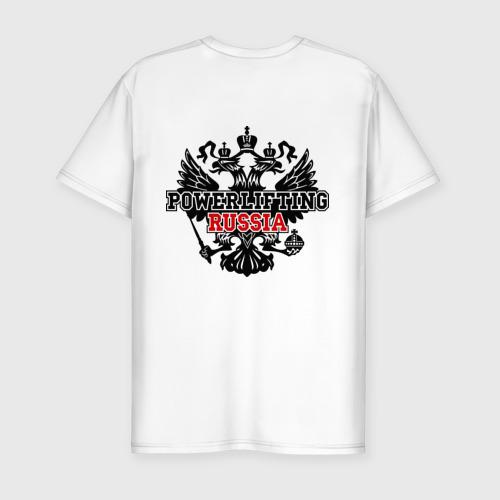 Мужская футболка премиум  Фото 02, Powerlifting Russia (2)