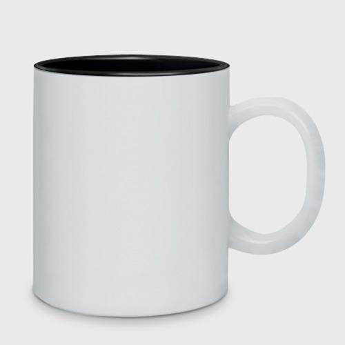 Кружка двухцветная  Фото 02, Налей чаю блеать