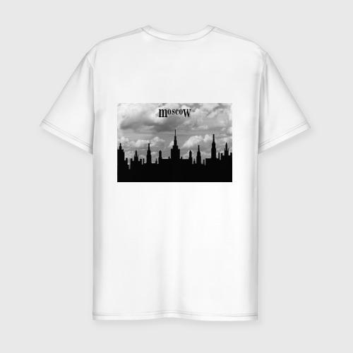 Мужская футболка премиум  Фото 02, Семь высоток Guf