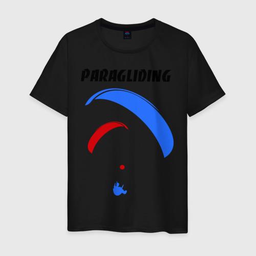 Мужская футболка хлопок  Фото 01, Paragliding