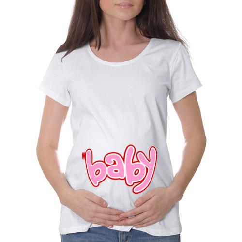 Футболка для беременных хлопок  Фото 01, Baby (3)