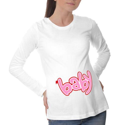 Лонгслив для беременных хлопок Baby (3)