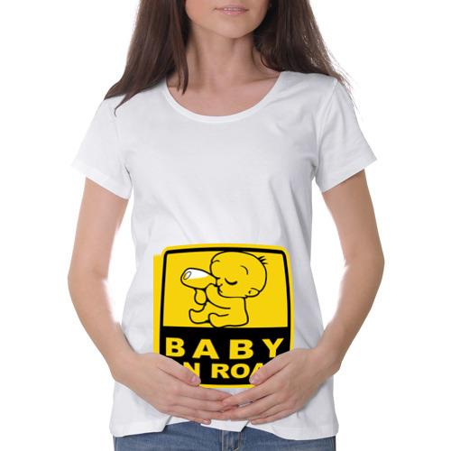 Футболка для беременных хлопок  Фото 01, Baby On Road