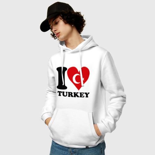 Мужская толстовка хлопок  Фото 03, I love turkey
