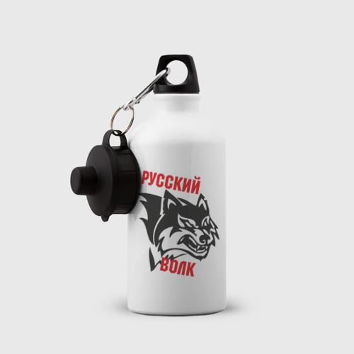 Бутылка спортивная  Фото 03, Русский волк