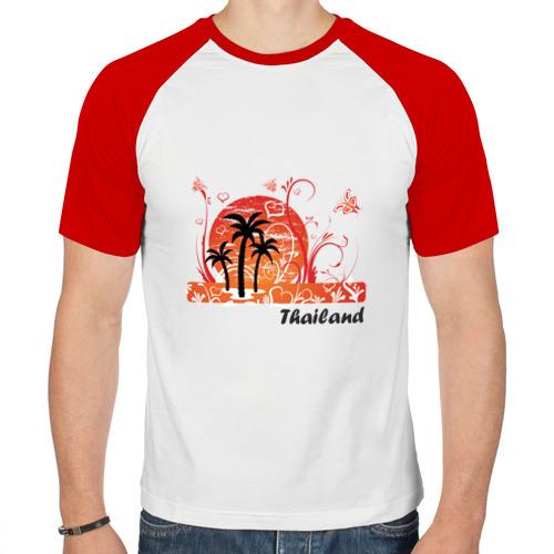Мужская футболка реглан  Фото 01, Thailand