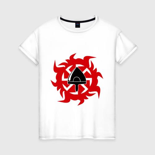 Женская футболка хлопок Огнеколо