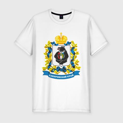 Мужская футболка премиум Хабаровский край Фото 01